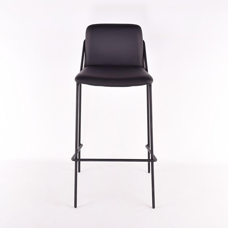 Admirable Sling Barstool Upholstered Nuans Inzonedesignstudio Interior Chair Design Inzonedesignstudiocom