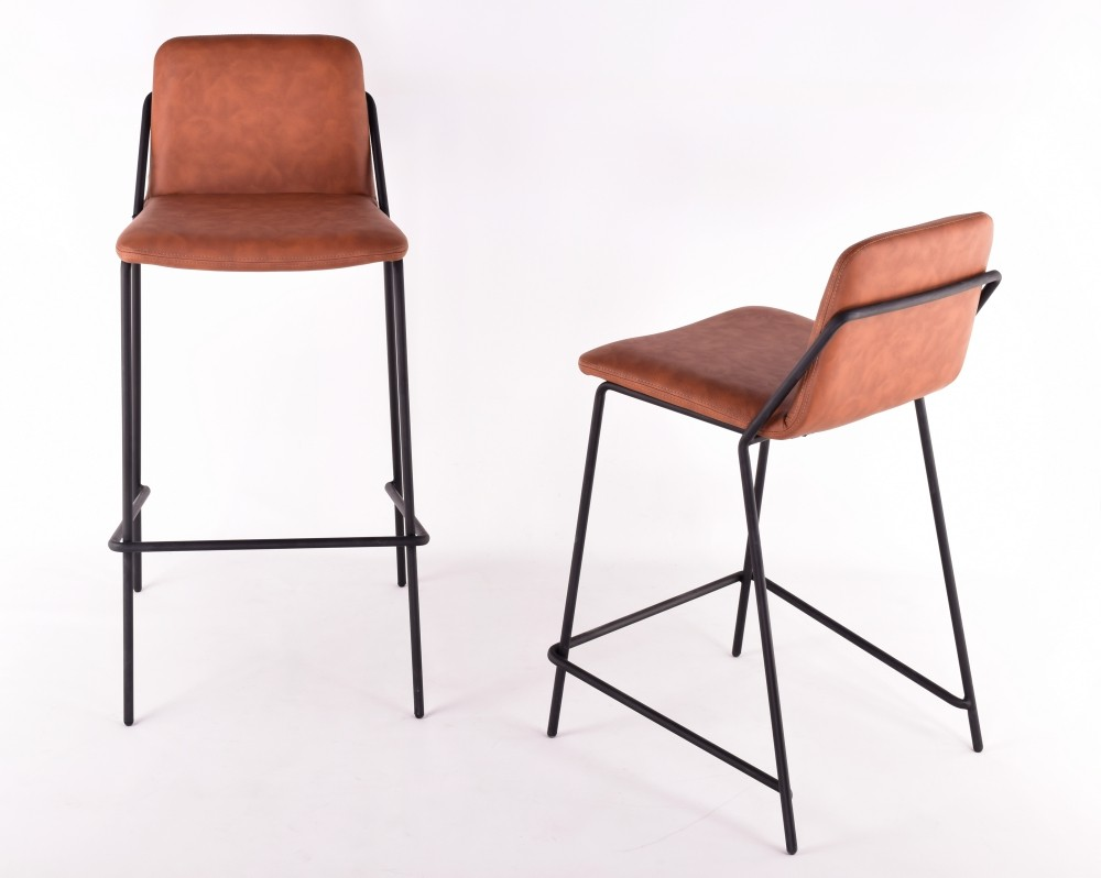 Astounding Sling Barstool Upholstered Nuans Inzonedesignstudio Interior Chair Design Inzonedesignstudiocom