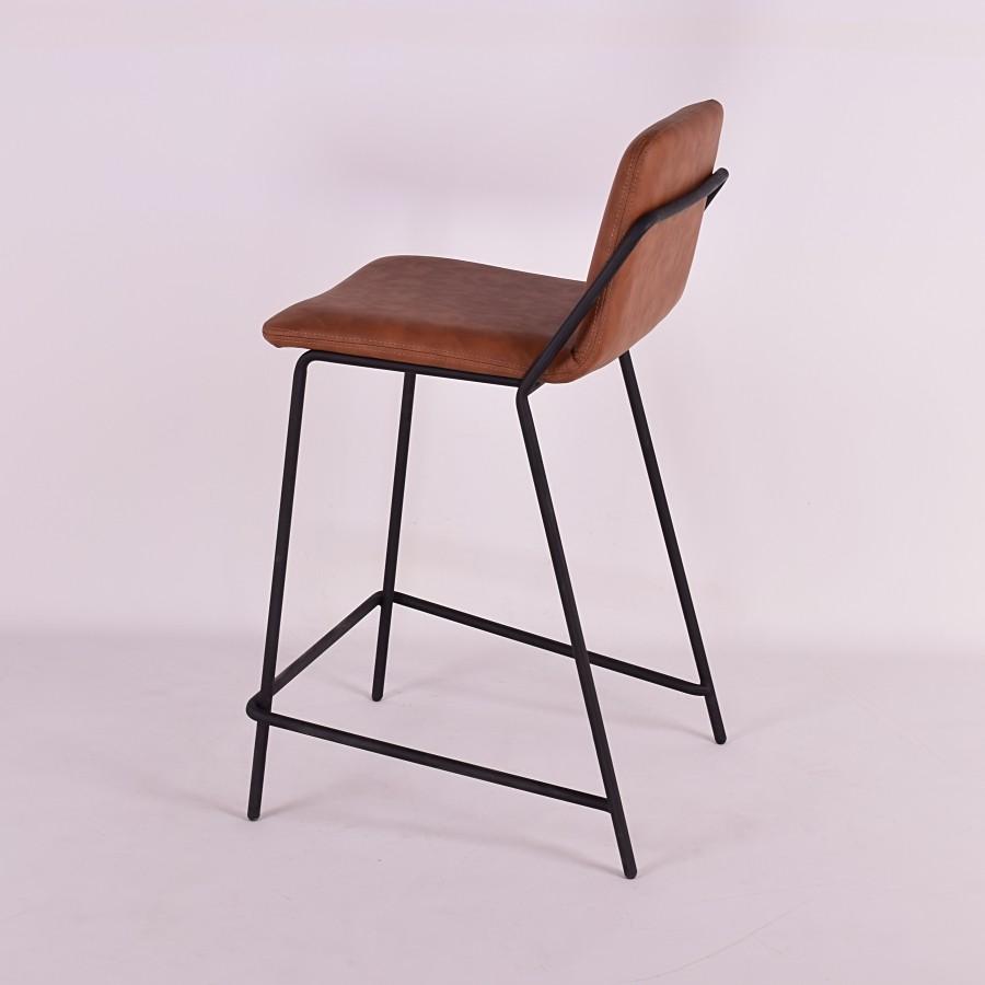 Sling Counter Stool Upholstered Nuans