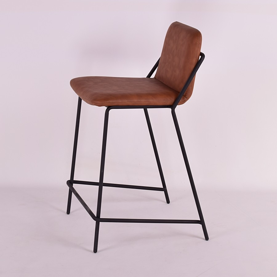 Peachy Sling Counter Stool Upholstered Nuans Dailytribune Chair Design For Home Dailytribuneorg