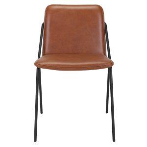 sling chair upholstered