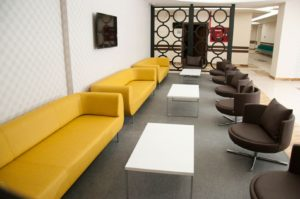 durgu sofa | gordon coffee tables | round armchairs