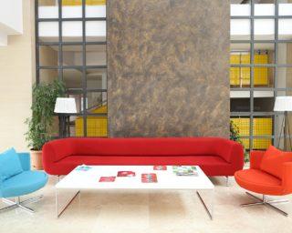 durgu sofa | round chairs