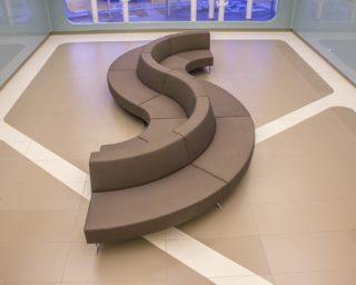 simple S sofa