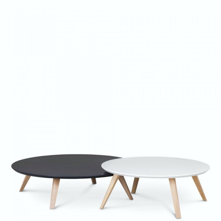 oblique coffee table