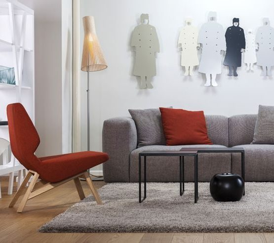 match sofa | oblique chair
