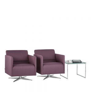 slim armchair