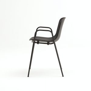 holi chair solid w/arms