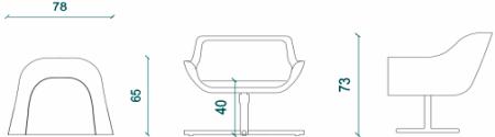 green-chair-measurement