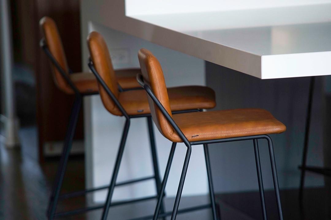 Fantastic Sling Counter Stool Upholstered Nuans Dailytribune Chair Design For Home Dailytribuneorg