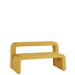moby bench with higher section