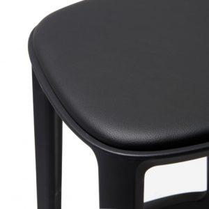 cadrea barstool upholstered