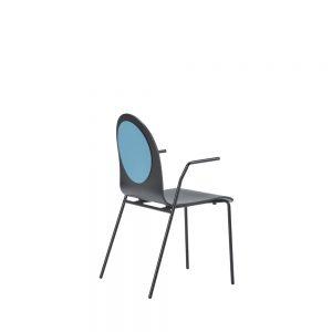 dot chair w/arm