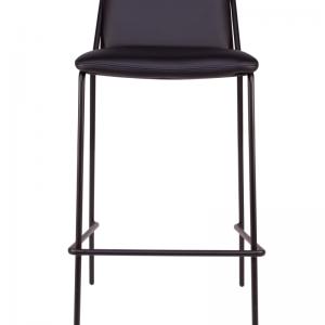 sling barstool upholstered