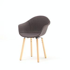 ta armchair upholstered | yi base