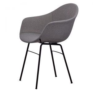 ta armchair upholstered | er base