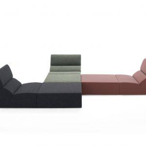 layout modular sofa