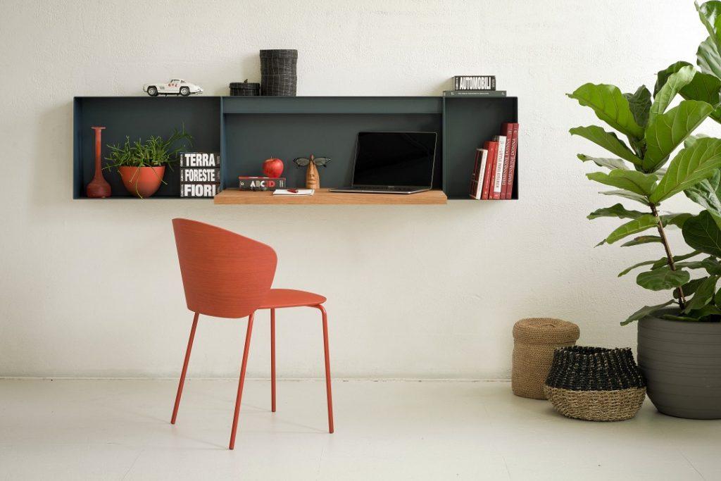 True Design Hella Desk Shelf HE t090 - Not Wood Chair - 2