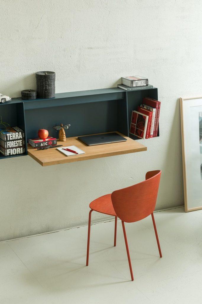 True Design Hella Desk Shelf HE t090 - Not Wood Chair - (3)