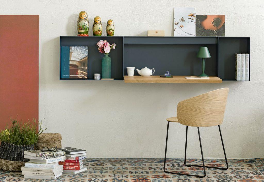 True Design Hella Desk Shelf HE t090 - Not Wood Chair - (7)
