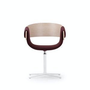 kay swivel pedestal chair