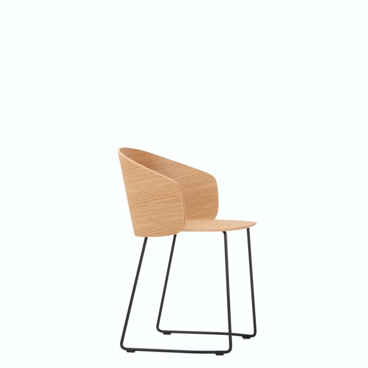 not wood chair - sled - large