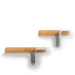 wave wall shelves