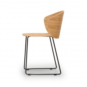 not wood chair - sled