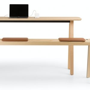 e-quo bench upholstered