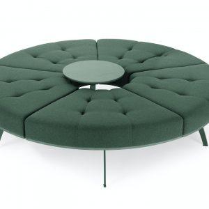 millepiedi circle bench