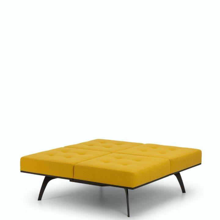 millepiedi square bench
