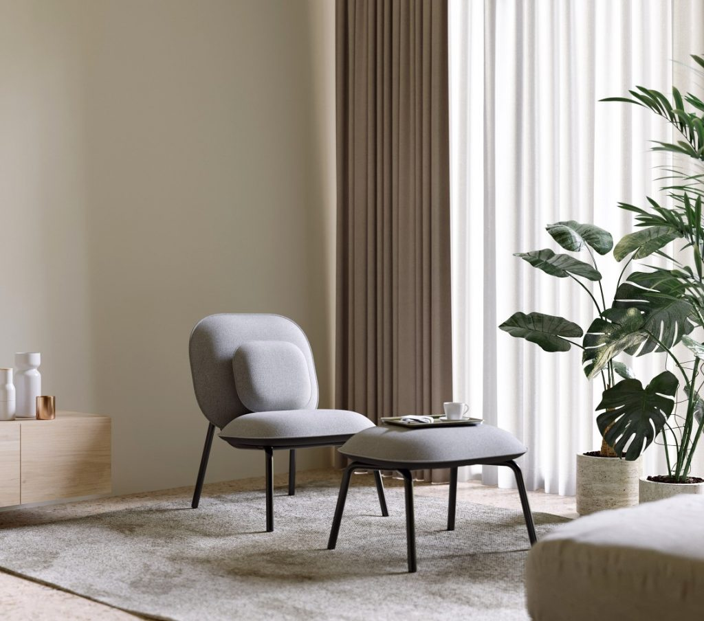 TOOU Tasca Lounge Chair x Nuans Design 2