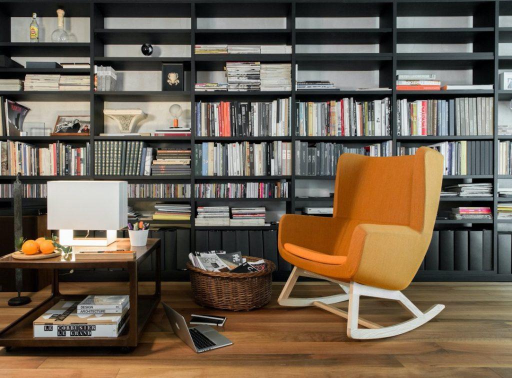 True Design Arca Lounge ROCKER Chair --