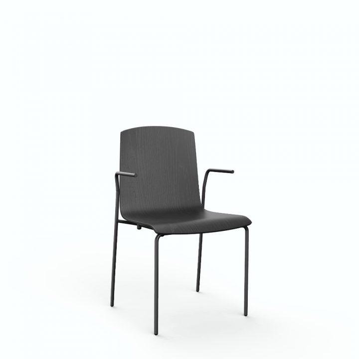 aristo chair 4leg w/arm