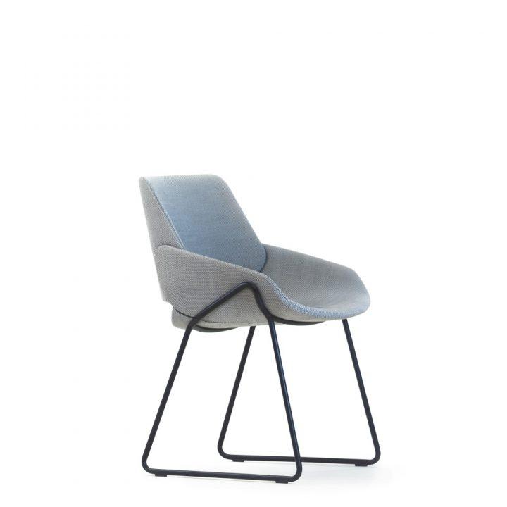 monk chair metal base