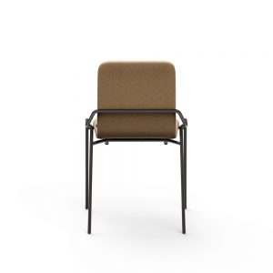 dupont stacking chair upholstered